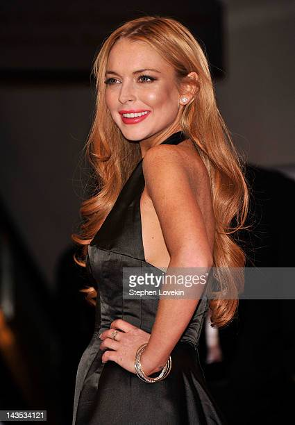 Lindsay Lohan attends the 98th Annual White House Correspondents' Association Dinner at the Washington Hilton on April 28 2012 in Washington DC