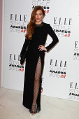 Lindsay Lohan attends the ELLE Style Awards at Sky Garden 20 Fenchurch Street EC3M 3BY on February 24 2015 in London England