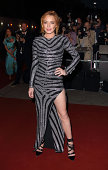Lindsay Lohan attends the GQ Men of the Year awards at The Royal Opera House on September 2 2014 in London England