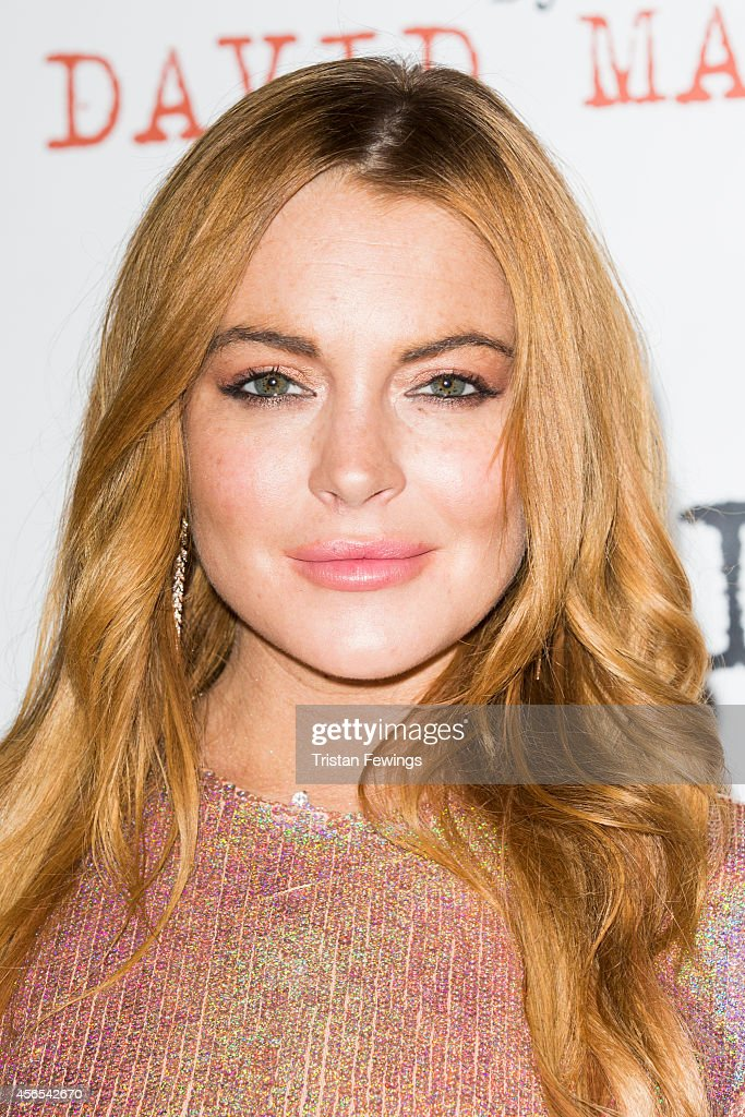 <a gi-track='captionPersonalityLinkClicked' href=/galleries/search?phrase=Lindsay+Lohan&family=editorial&specificpeople=171623 ng-click='$event.stopPropagation()'>Lindsay Lohan</a> attends the press night after party of 'Speed The Plow' at Playhouse Theatre on October 2, 2014 in London, England.