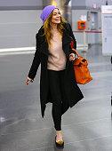 Lindsay Lohan is seen on December 30 2014 in New York City