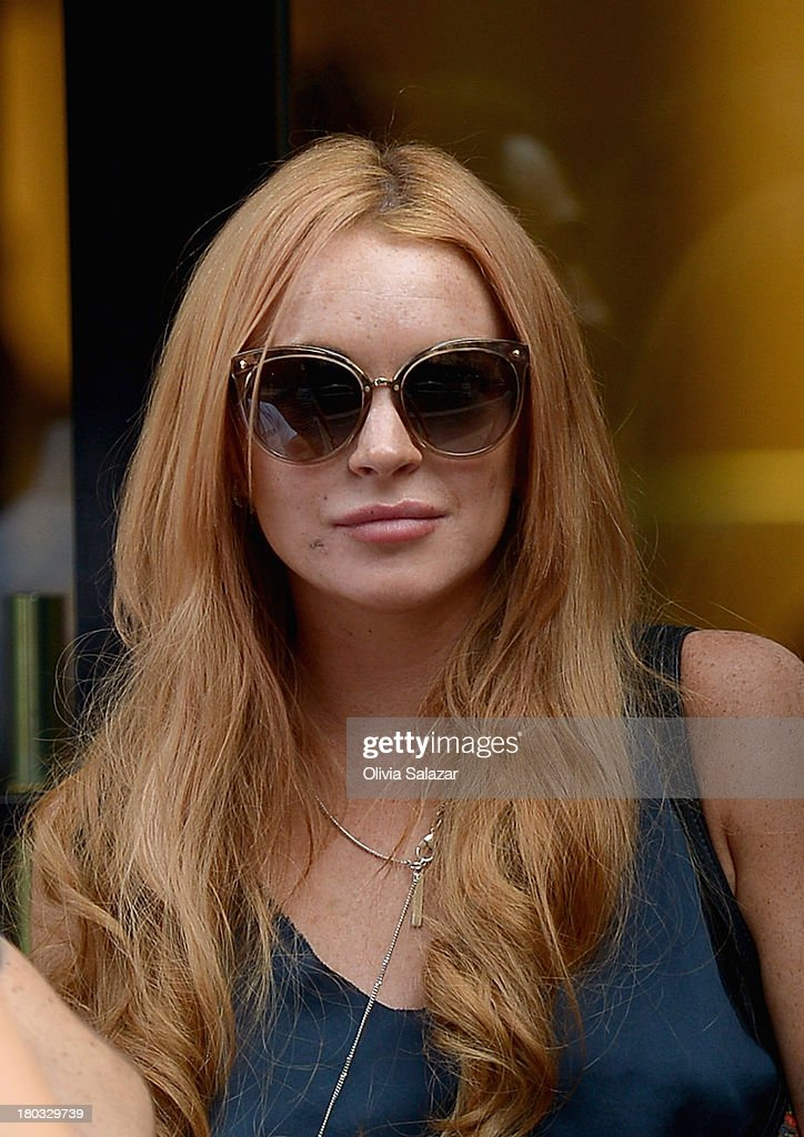 <a gi-track='captionPersonalityLinkClicked' href=/galleries/search?phrase=Lindsay+Lohan&family=editorial&specificpeople=171623 ng-click='$event.stopPropagation()'>Lindsay Lohan</a> is seen on September 11, 2013 in New York City.
