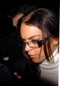 Lindsay Lohan leaving Nobu for Boujis during Lindsay Lohan Sighting at Boujis Nightclub November 21 2006 in London Great Britain
