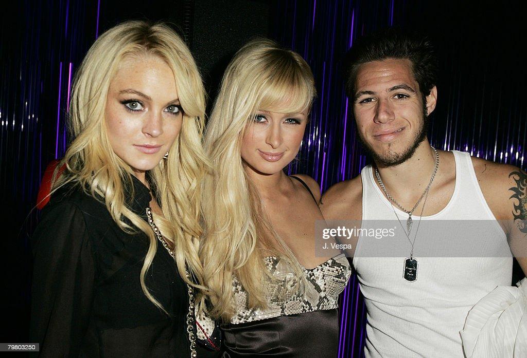 Lindsay Lohan, Paris Hilton and Paris Latsis