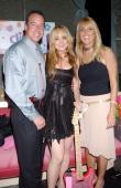 Lindsay Lohan with her father Michael Lohan and mother Dina Lohan
