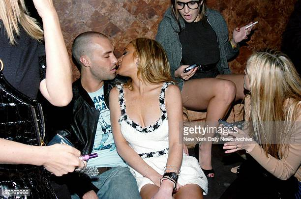 Lindsay Lohan with her new boyfriend model Calum Best Lindsay was at club TENJUNE hosting the Nylon Magazine Young Hollywood Issue