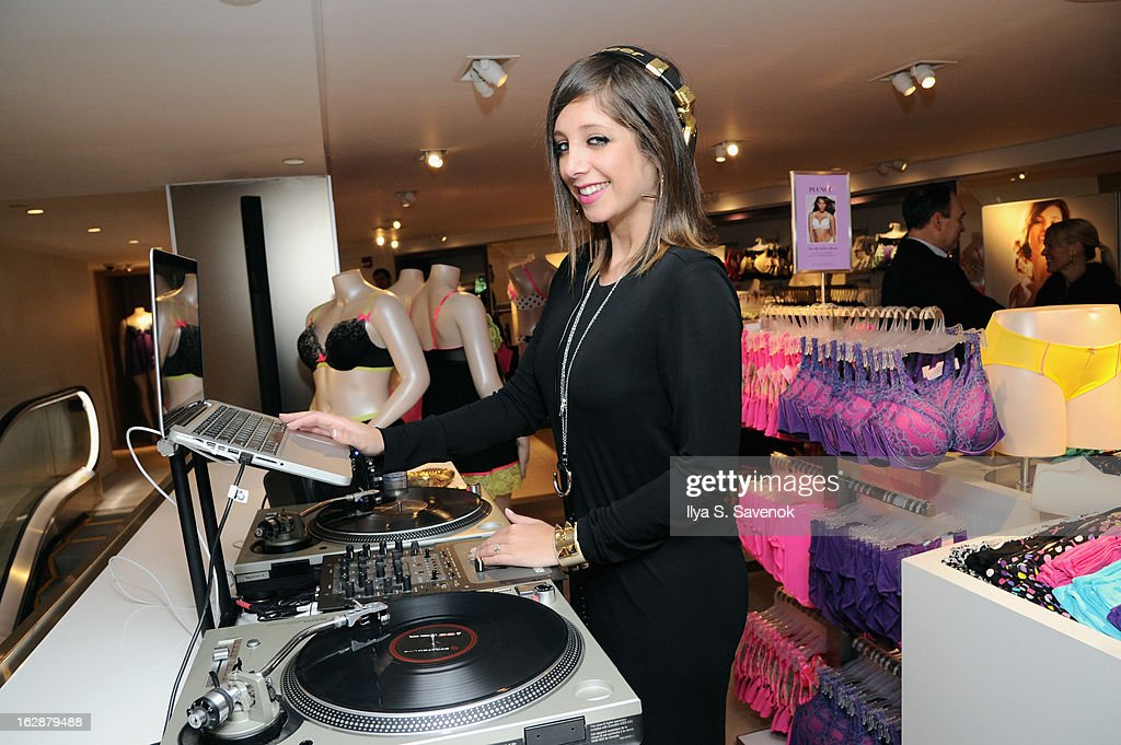 DJ Lindsay Luv attends Carnie Wilson & Jay Manuel Celebrate Lane Bryant's NYC Flagship on February 28, 2013 in New York City.
