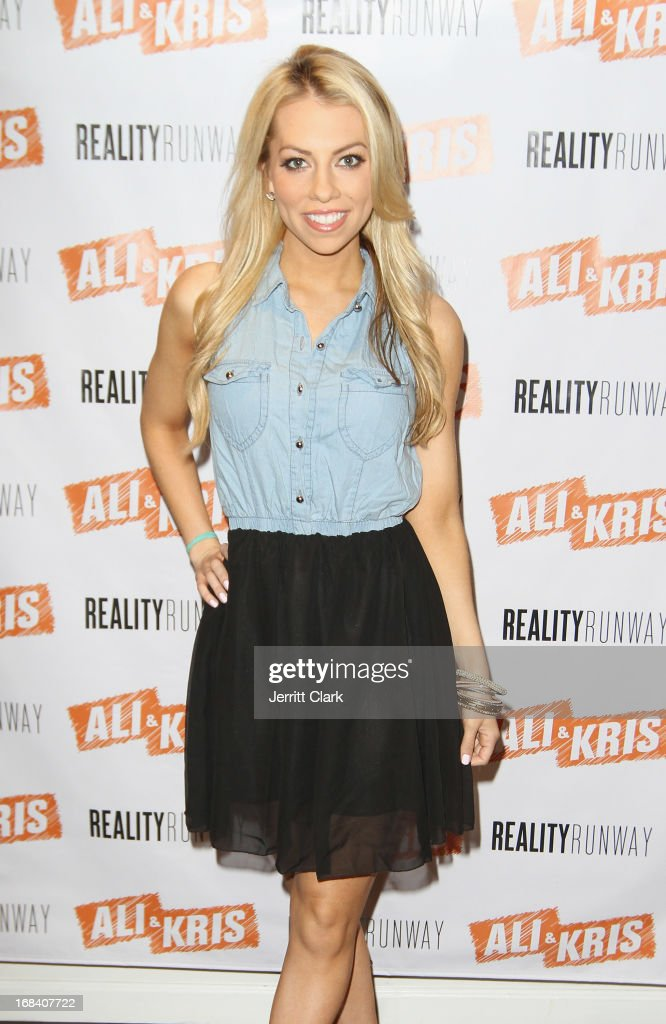Lindsay McCormick, ESPN Correspondent attends Reality Runway By Ali And Kris at the Ali and Kris Showroom on May 8, 2013 in New York City.
