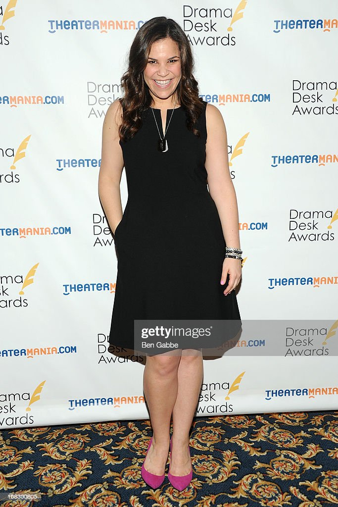 Lindsay Mendez attends The 2013 Drama Desk Nominees Reception at JW Marriott Essex House on May 8, 2013 in New York City.