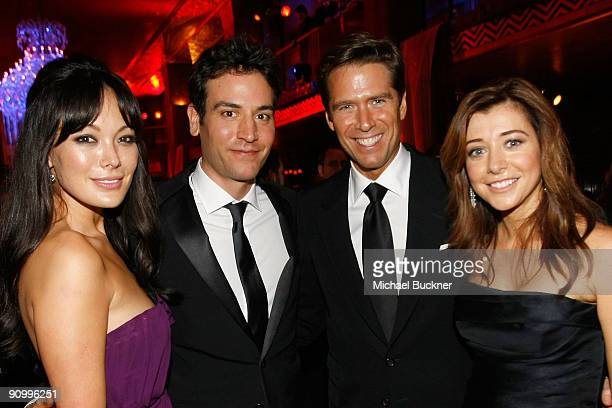 Lindsay Price Josh Radnor from FOX's 'How I Met Your Mother' Alexis Denisof and actress Alyson Hannigan from FOX's 'How I Met Your Mother' attend the...