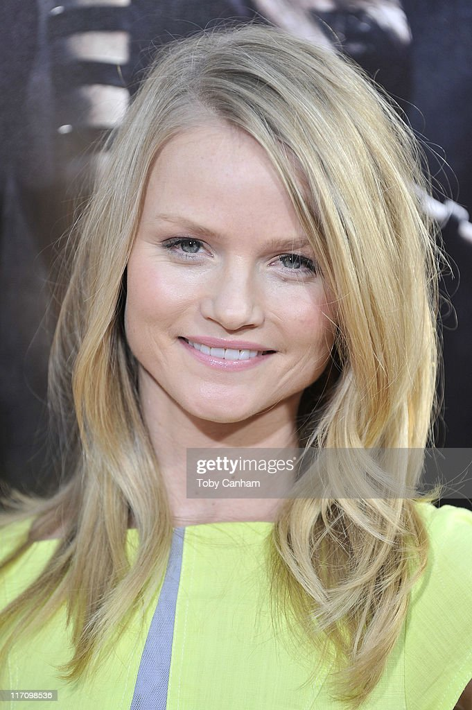 Lindsay Pulsifer arrives for the premiere of HBO's 'True Blood' held at the Arclight Cinerama Dome on June 21, 2011 in Los Angeles, California.