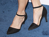 Lindsay Pulsipher shoe detail arrives at The Humane Society of The United States' Los Angeles Benefit Gala held at Regent Beverly Wilshire Hotel on...