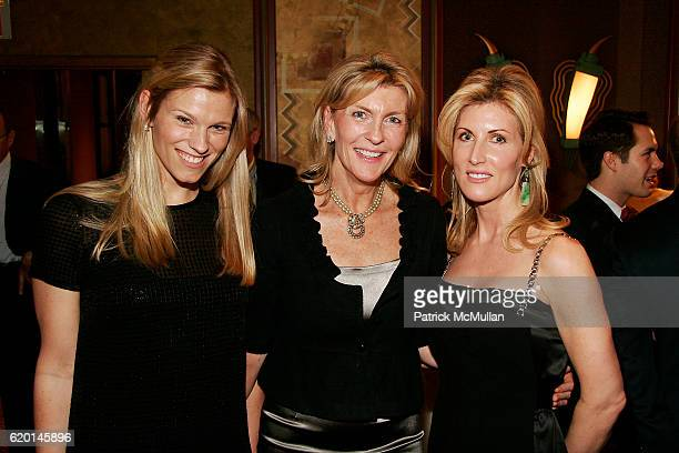 Lindsay Shookus Patricia Fast and Diane Tierney attend The New York Botanical Garden Orchid Dinner at Rainbow Room on February 7 2008 in New York City