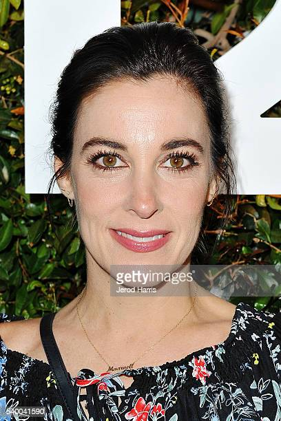 Lindsay Sloane arrives at TakeTwo's Annual E3 Kickoff Party at Cecconi's Restaurant on June 13 2016 in Los Angeles California
