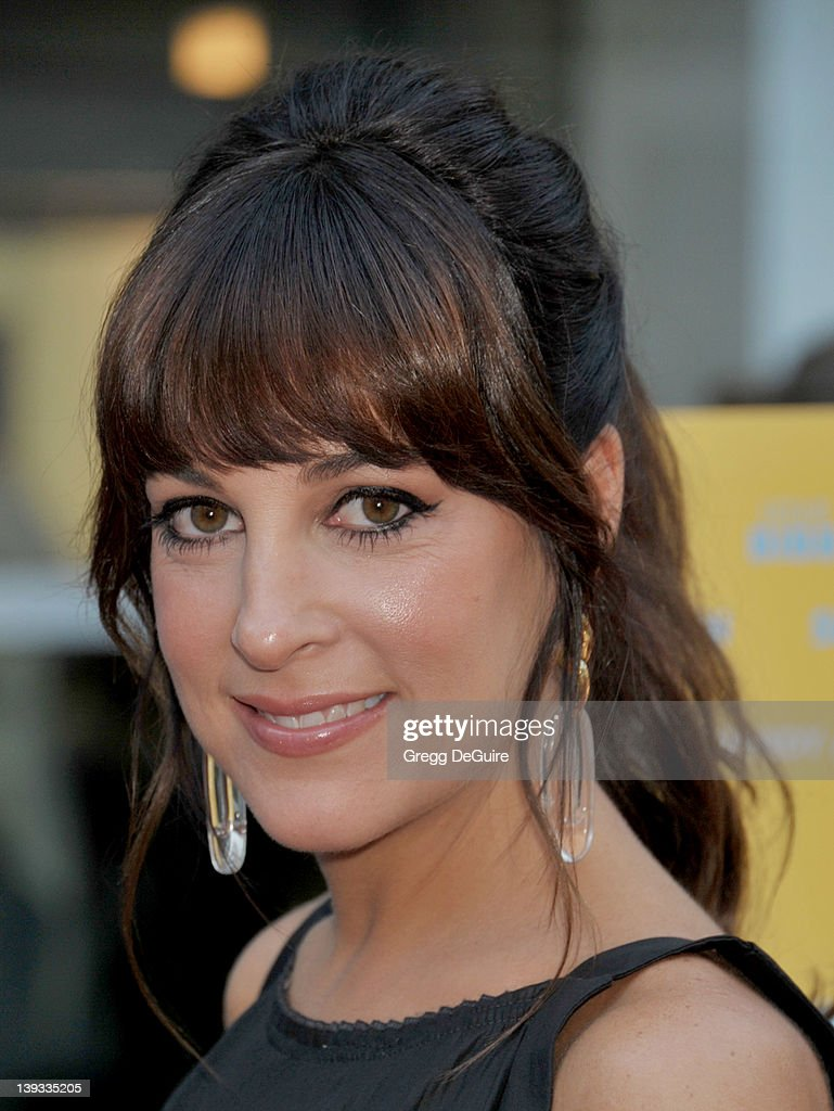 Lindsay Sloane arrives at the Los Angeles Premiere of 'A Good Old Fashioned Orgy' at the ArcLight Theater on August 25 2011 in Hollywood California