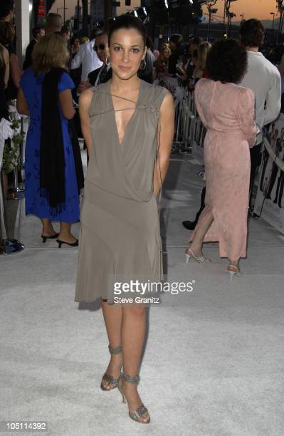 Lindsay Sloane during 'The InLaws' Premiere at Cinerama Dome in Hollywood California United States