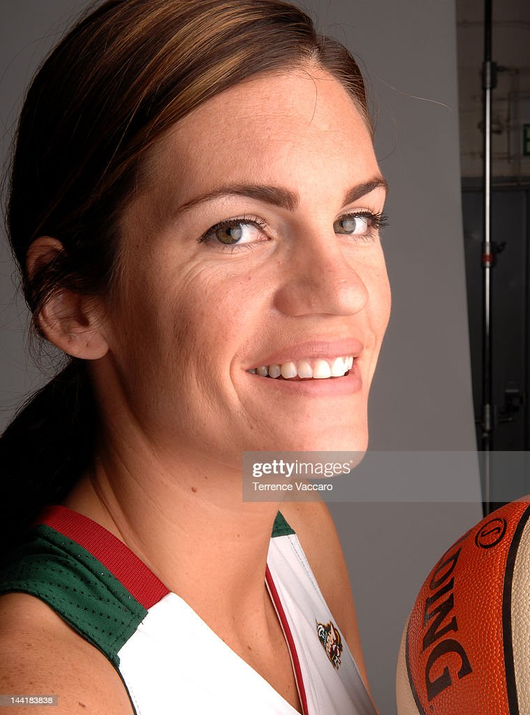 Lindsay Taylor #13 of the Seattle Storm poses for a photo during 2012 WNBA Media Day on May 27, 2012 at Key Arena in Seattle, Washington.