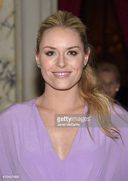 Lindsay Vonn attends 'The Age of Adaline' premiere after party at The Metropolitan Club on April 19 2015 in New York City