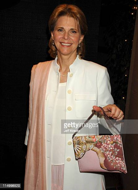 Lindsay Wagner during 5th Annual TV Land Awards Backstage at Barker Hangar in Santa Monica California United States