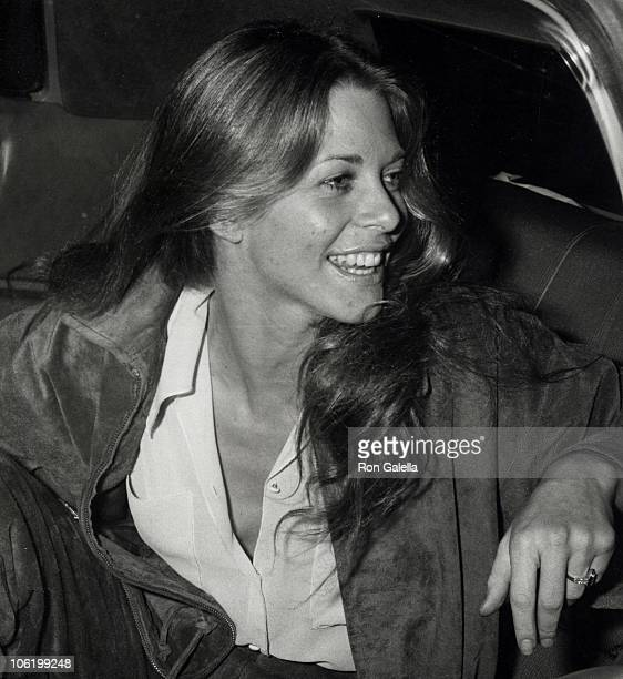 Lindsay Wagner during Lindsay Wagner Sighting at Mr Chows April 12 1978 at Mr Chows in Beverly Hills California United States