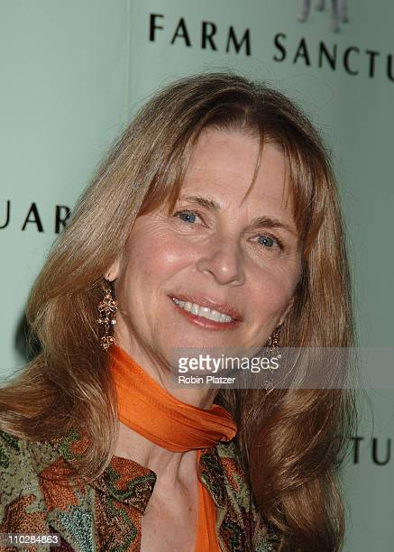 Lindsay Wagner during The Farm Sanctuary 20th Anniversary Arrivals at Ciprianis Wall Street in New York New York United States