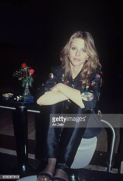 Lindsay Wagner posing for the photo circa 1970 New York