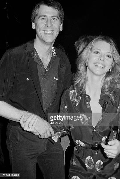 Lindsay Wagner with Barry Bostwick holding hands circa 1970 New York