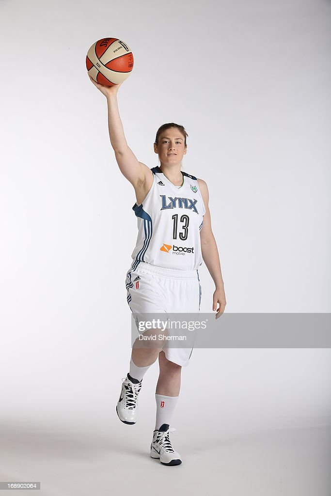 Lindsay Whalen #13 of the Minnesota Lynx poses for portraits during 2013 Media Day on May 16, 2013 at the Minnesota Timberwolves and Lynx LifeTime Fitness Training Center at Target Center in Minneapolis, Minnesota.