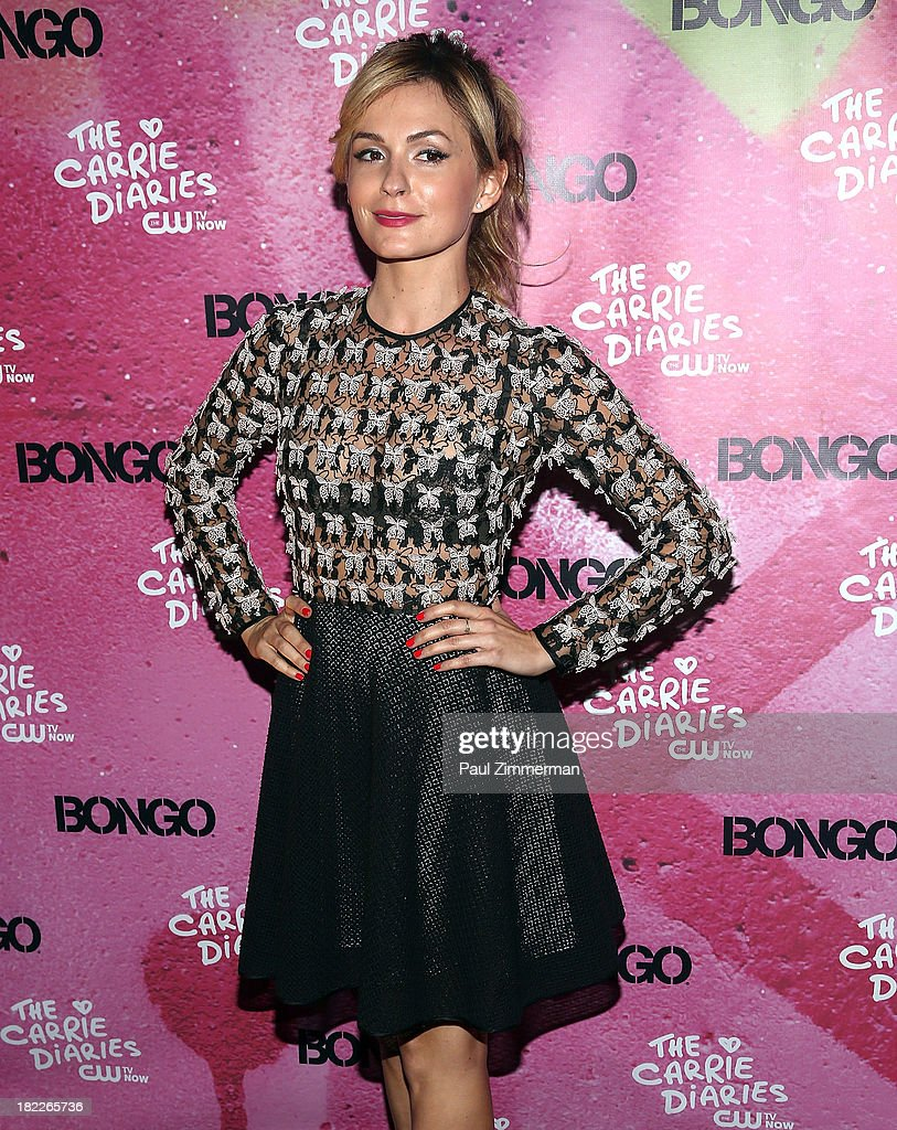 Lindsey Gort attends 'The Carrie Diaries' Season Two Premiere Party at Gansevoort Park Avenue on September 28, 2013 in New York City.