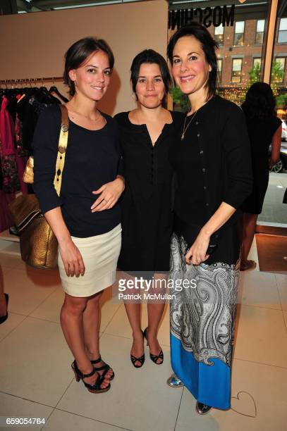 Lindsey Keenan Sara Switzer and Punch Hutton attend Moschino Toasts Ross Bleckner at Moschino NYC on April 28 2009