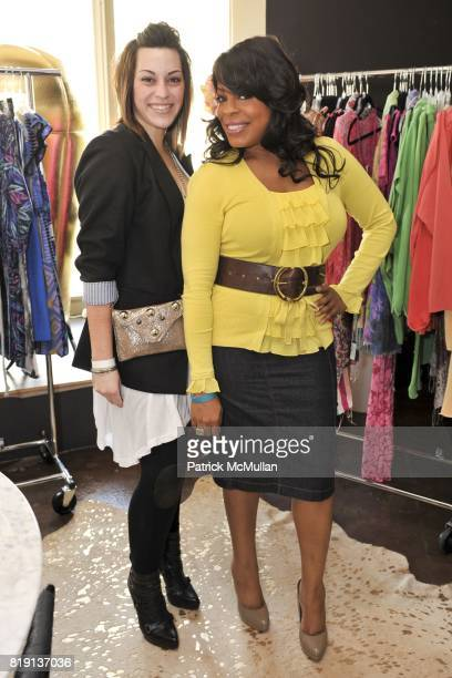Lindsey Mann and Niecy Nash attend Silver Spoon Presents Oscar Weekend Red Cross Event For Haiti Relief at Interior Illusions on March 3 2010 in West...