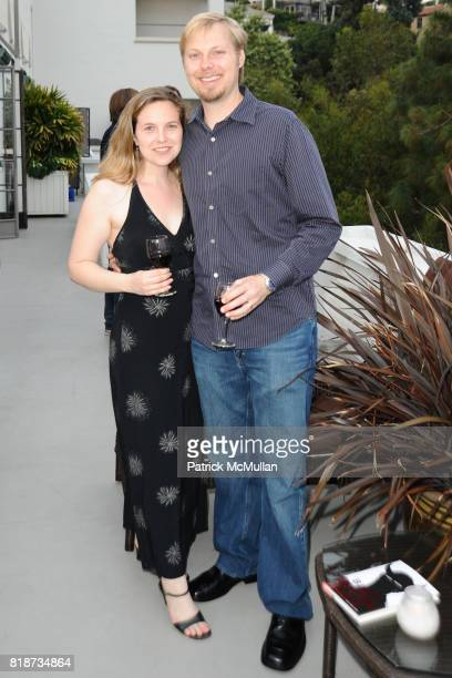 Lindsey Mathieson and Eric Coutrney attend Bret Easton Ellis to celebrate the publication of his new novel IMPERIAL BEDROOMS at Penthouse on June 10...