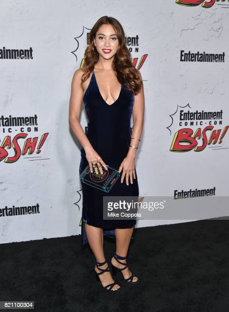 Lindsey Morgan at Entertainment Weekly's annual ComicCon party in celebration of ComicCon 2017 at Float at Hard Rock Hotel San Diego on July 22 2017...
