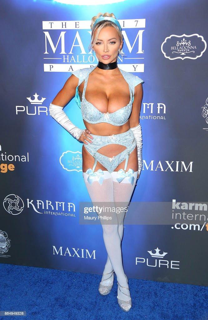 2017 Maxim Halloween Party - Arrivals