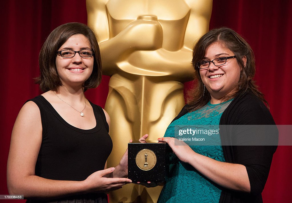 Lindsey St Pierre and Ashley Graham attends The Academy Of Motion Picture Arts And Sciences' 40th Annual Student Academy Awards Ceremony at AMPAS...