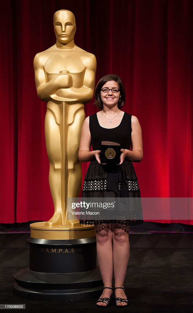 Lindsey St. Pierre attends The Academy Of Motion Picture Arts And Sciences' 40th Annual Student Academy Awards Ceremony at AMPAS Samuel Goldwyn Theater on June 8, 2013 in Beverly Hills, California.