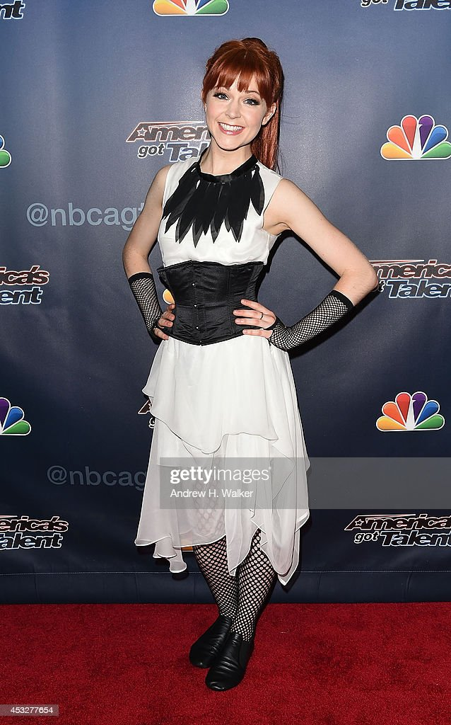 <a gi-track='captionPersonalityLinkClicked' href=/galleries/search?phrase=Lindsey+Stirling&family=editorial&specificpeople=9719845 ng-click='$event.stopPropagation()'>Lindsey Stirling</a> attends 'America's Got Talent' season 9 post show red carpet event at Radio City Music Hall on August 6, 2014 in New York City.