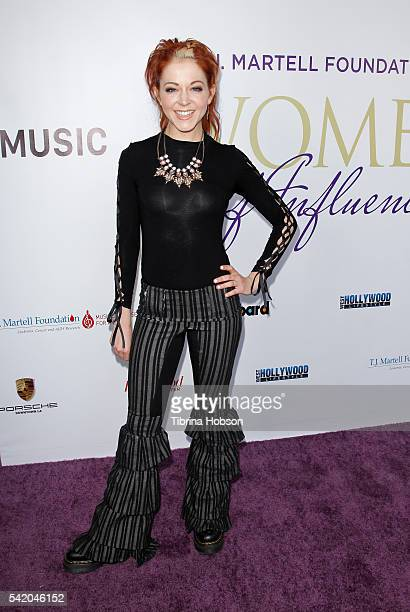 Lindsey Stirling attends the Women of Influence Awards at The Wilshire Ebell Theatre on June 21 2016 in Los Angeles California