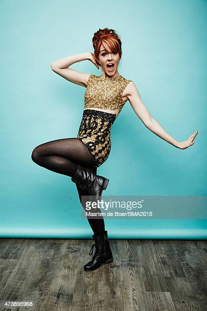 Lindsey Stirling poses for a portrait at the 2015 Billboard Music Awards on May 17 2015 in Las Vegas Nevada