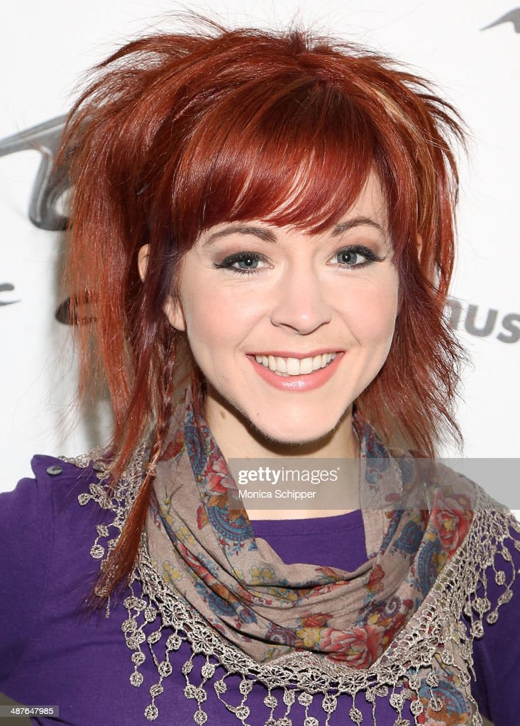 <a gi-track='captionPersonalityLinkClicked' href=/galleries/search?phrase=Lindsey+Stirling&family=editorial&specificpeople=9719845 ng-click='$event.stopPropagation()'>Lindsey Stirling</a> visits 'You & A' at Music Choice on May 1, 2014 in New York City.