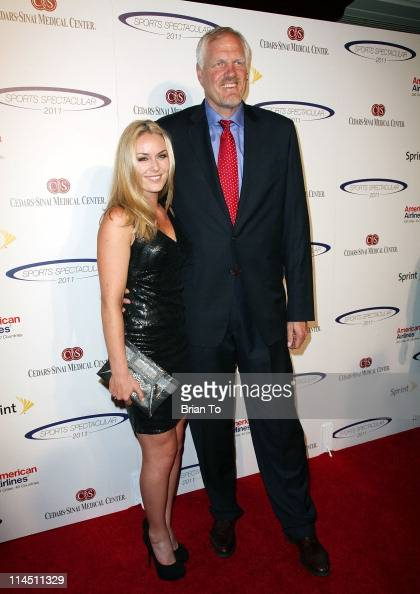 Lindsey Vonn and Mark Eaton attend 26th Anniversary Sports Spectacular at the Hyatt Regency Century Plaza on May 22 2011 in Century City California