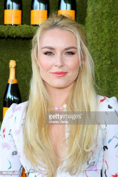 Lindsey Vonn at the Eighth Annual Veuve Clicquot Polo Classic on October 14 2017 in Los Angeles California