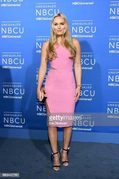 Lindsey Vonn attends the 2017 NBCUniversal Upfront at Radio City Music Hall on May 15 2017 in New York City