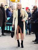 Celebrity Sightings In New York City - February 21, 2019