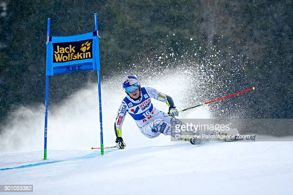 Lindsey Vonn of the USA during the Audi FIS Alpine Ski World Cup Women's Giant Slalom on December 12 2015 in Are Sweden