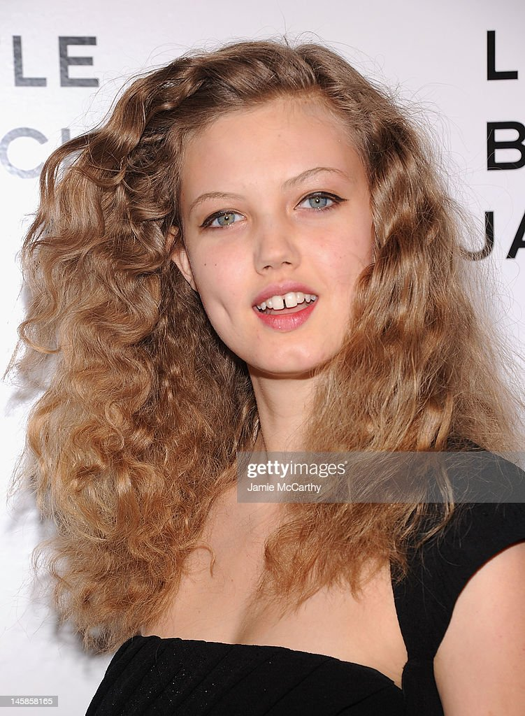 Lindsey Wixson attends Chanel'sThe Little Black Jacket Event at Swiss Institute on June 6 2012 in New York City