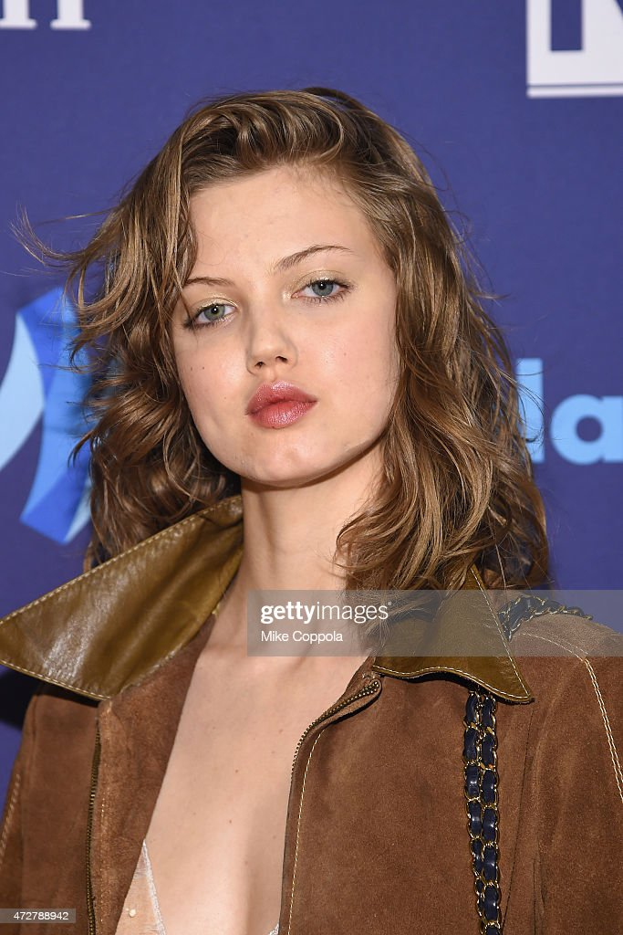 Lindsey Wixson attends the 26th Annual GLAAD Media Awards In New York on May 9 2015 in New York City