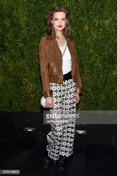 Lindsey Wixson attends the Chanel Dinner during the 2015 Tribeca Film Festival at Balthazar on April 20 2015 in New York City