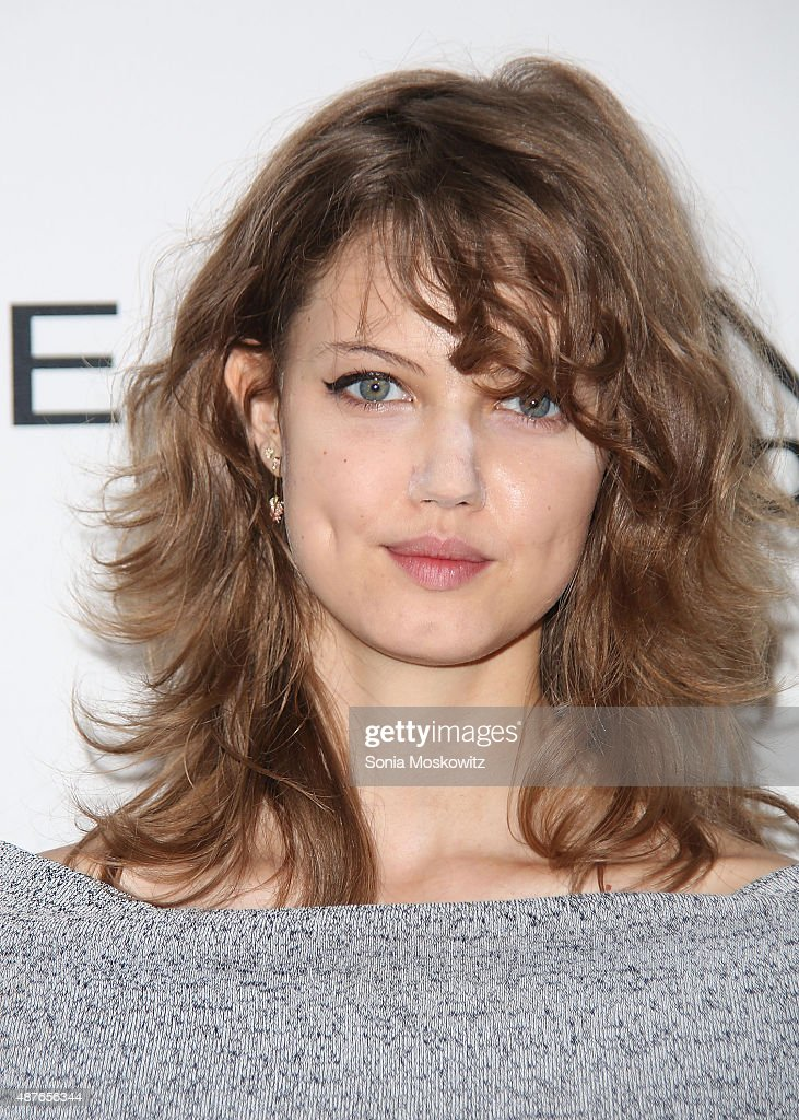 Lindsey Wixson attends The Daily Front Row's Third Annual Fashion Media Awards at the Park Hyatt New York on September 10 2015 in New York City