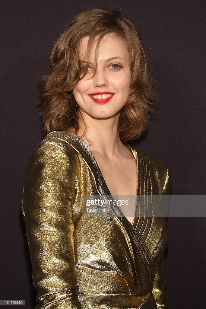 Lindsey Wixson attends the Harper's Bazaar ICONS Celebration at The Plaza Hotel on September 5 2014 in New York City